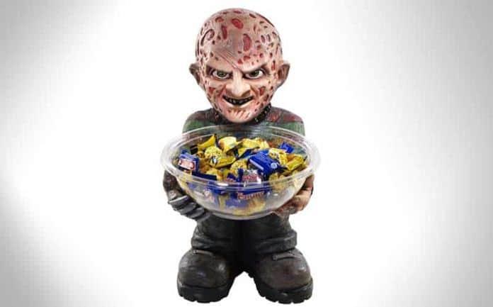 Freddy Krueger Halloween Candy Bowl