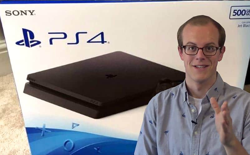 PS4 Slim reactions