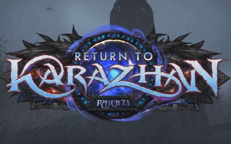 World of warcraft legion patch 7 1 will add 5 man karazhan dungeon