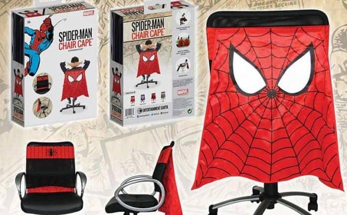 spider-man chair cape