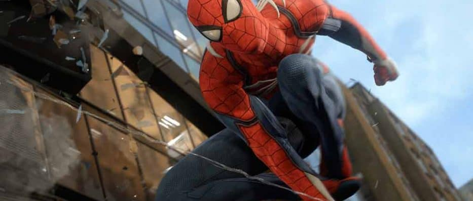 Spider-Man PS4 game