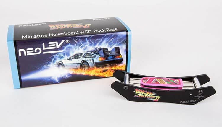 back to the future desktop hoverboard