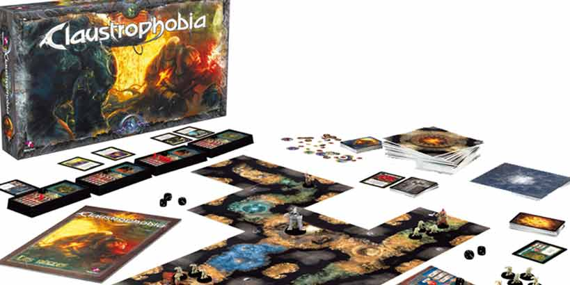 claustrophobia board game