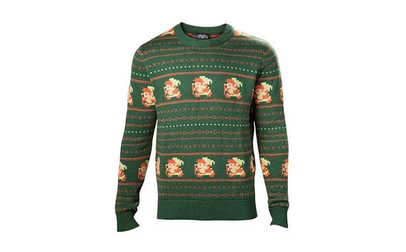 zelda the legend of santa knitted christmas sweater - Legend Of Zelda Christmas Sweater
