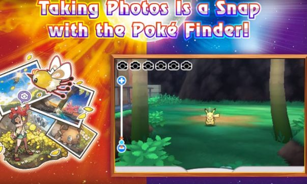 Pokemon snap feature sun and moon