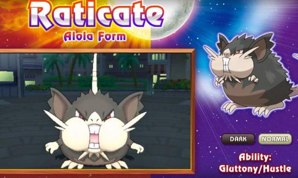 new raticate alola form