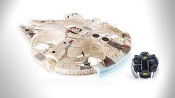 star wars millennnium falcon XL drone