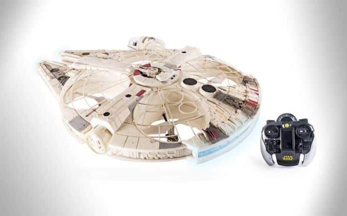 star wars millennnium falcon XL drone