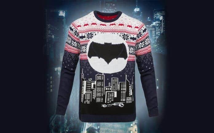 batman ugly christmas sweater