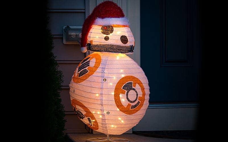 Star Wars Christmas BB-8 Lawn Ornament