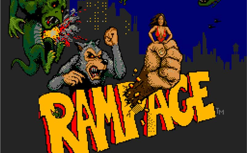 Rampage Movie Starring Dwayne Johnson Comes April 2018