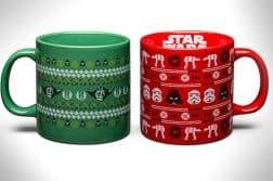 Star Wars ugly christmas sweater mugs