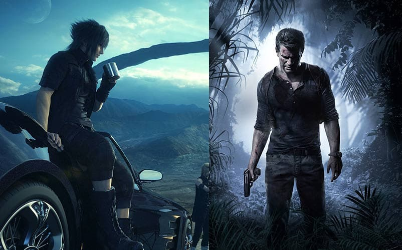 final fantasy xv vs uncharted 4 game of the year