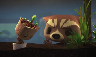 WATCH: Marvel and Funko Team Up for Rocket and Groot Short