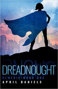 new superhero novel