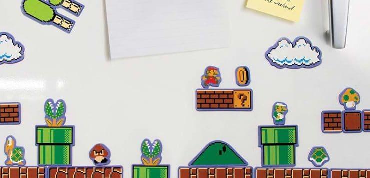 Super Mario Bros Collectors Edition Fridge Magnets