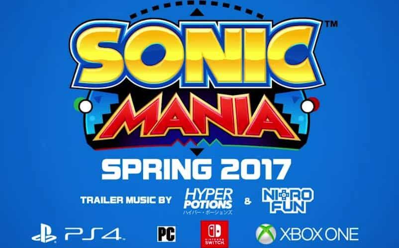 Watch Sonic Mania Nintendo Switch Trailer