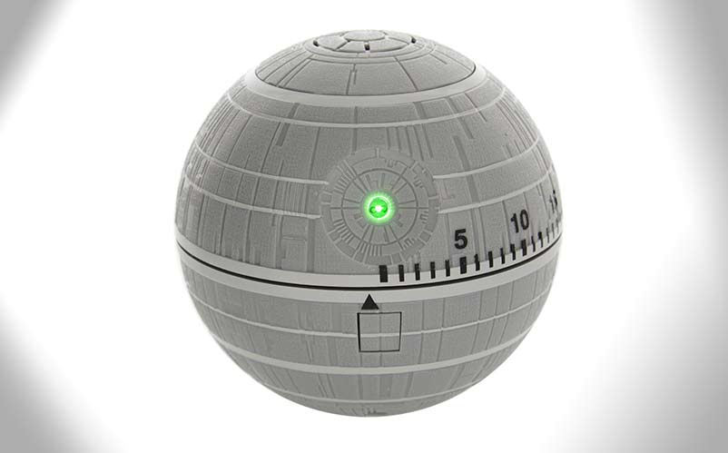 death star kitchen timer