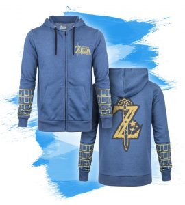breath of the wild hoodie
