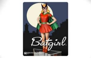 classic batgirl statue