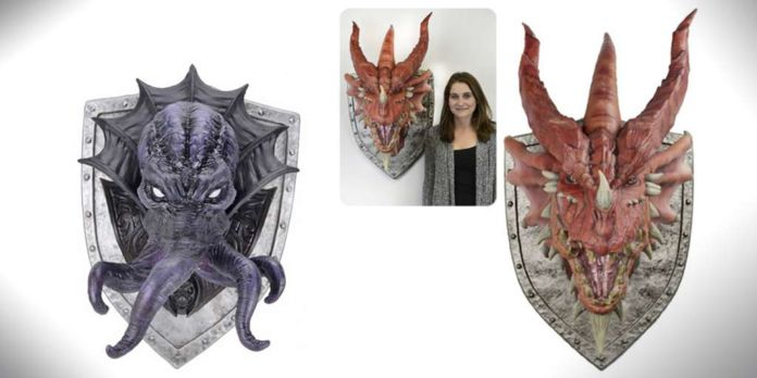 dungeons & Dragons head trophies