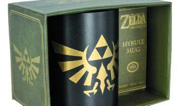 legend of zelda hyrule mug