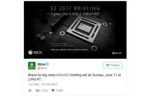 xbox e3 2017 conference