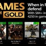 Xbox Games With Gold: April 2017
