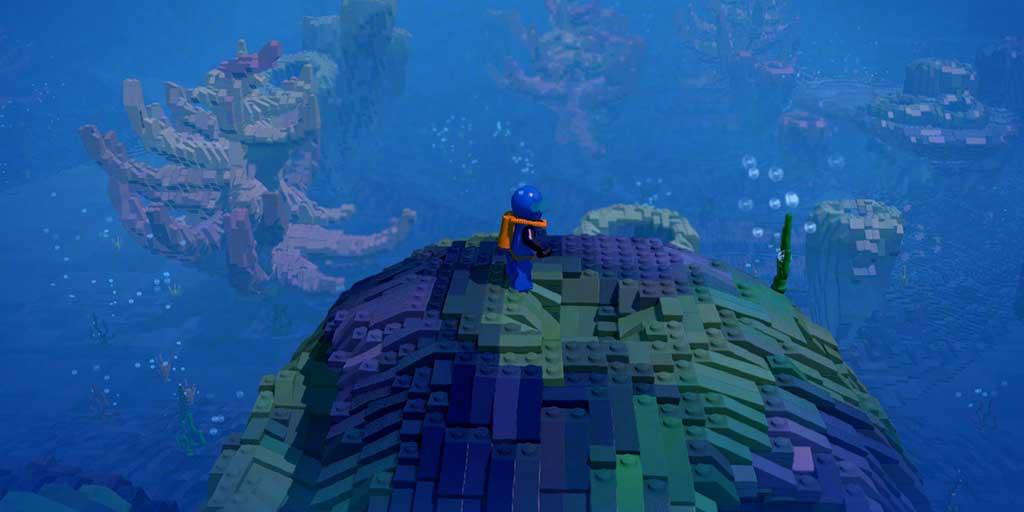 LEGO worlds underwater