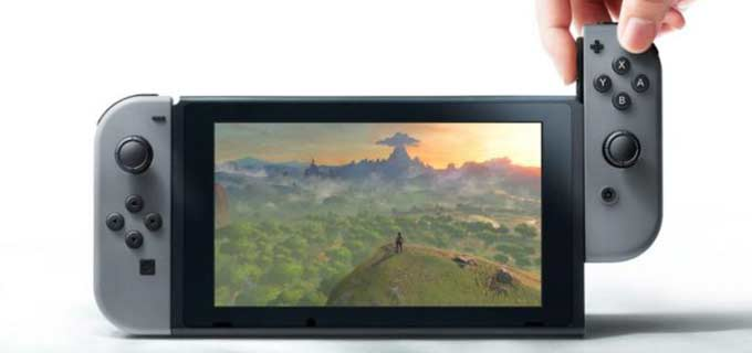Nintendo Switch dead pixels