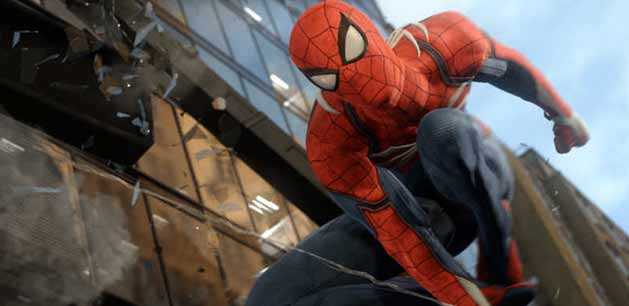 Spider-Man Ps4 release