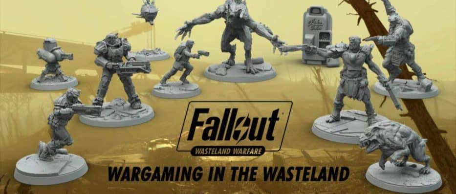 Fallout: Wasteland Warfare - A Board Game From Modiphius
