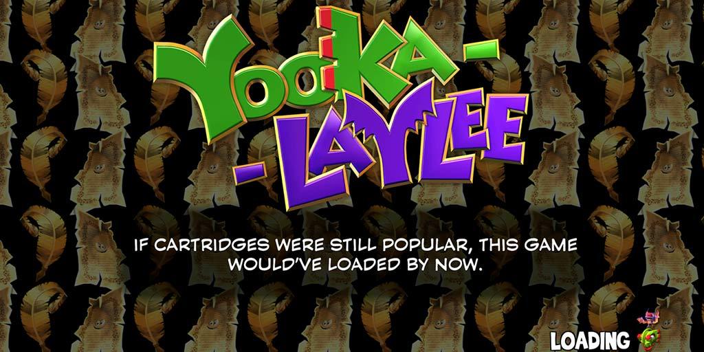 yooka-laylee loading screen