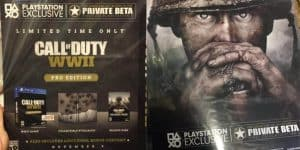 "Leakage: Call of Duty: WWII ""Pro Edition"" Revealed"