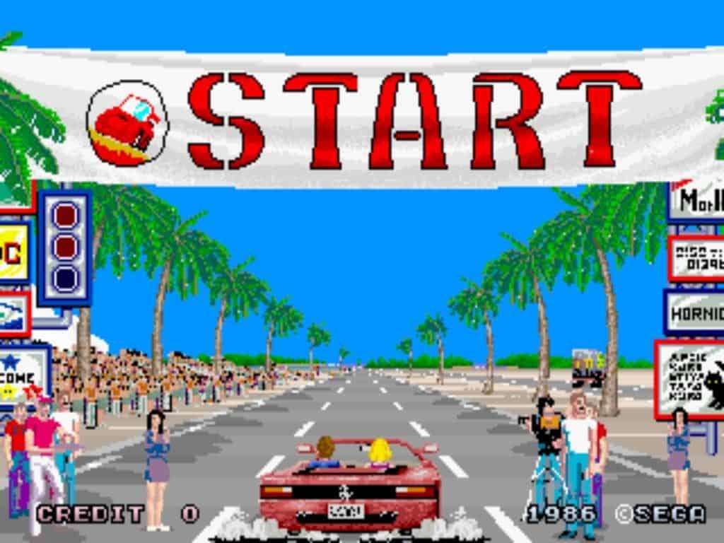 OutRun Sega