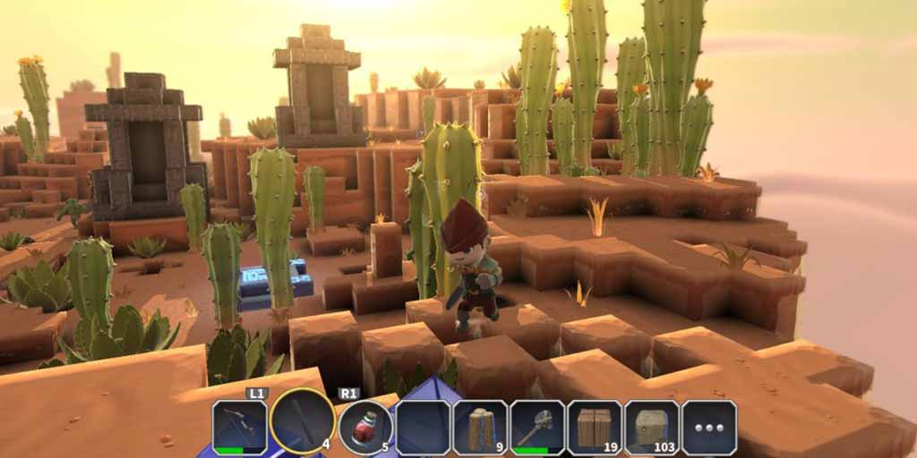 portal knights review playstation 4