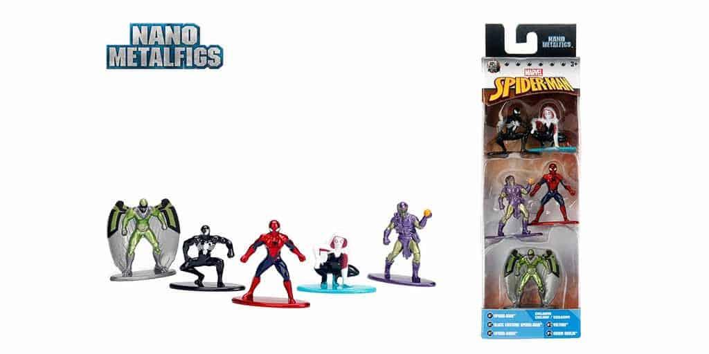 spider-man nano metalfigs