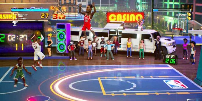 NBA Playgrounds On The Switch Now Has Online Mode