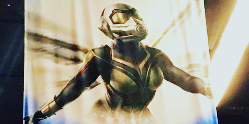 First glimpse at the Wasp costume