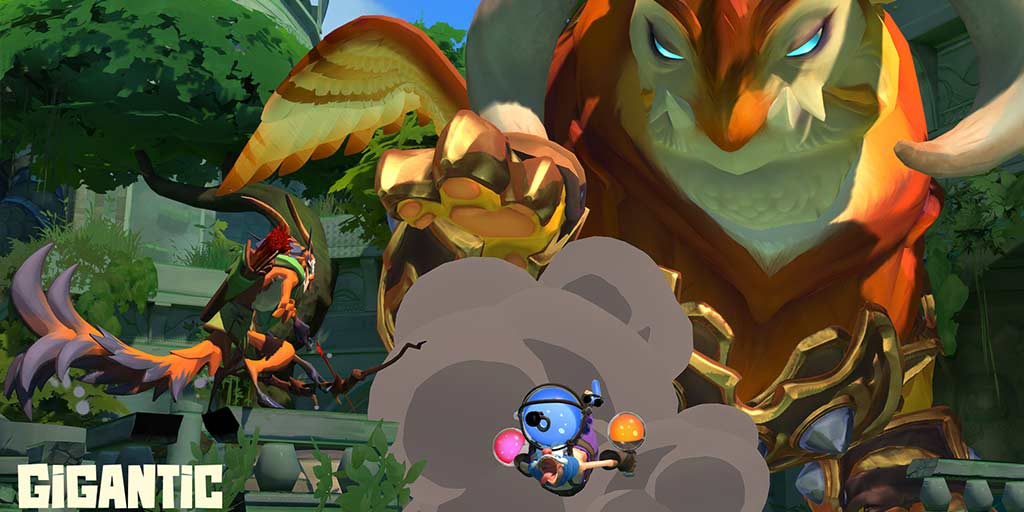 Motiga officially launches 5v5 hero shooter huge for PC and Xbox One