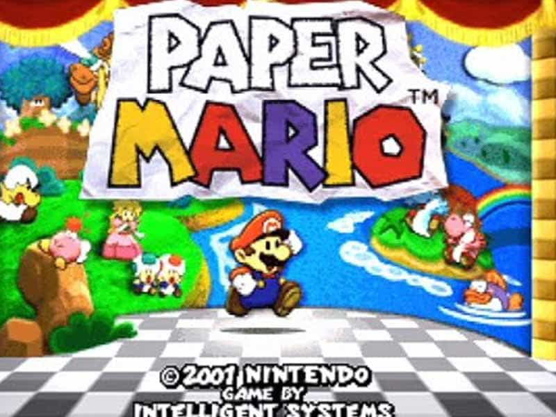 paper mario 64