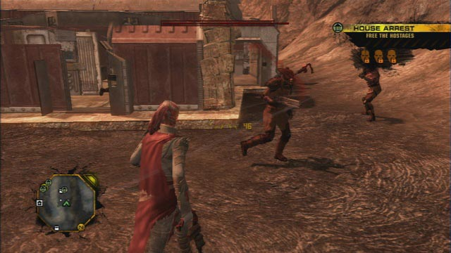 red faction guerilla demons of the badlands dlc