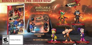 Sonic Forces Release Date November 2017