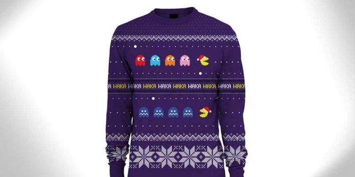 Pacman Christmas Sweater