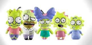 simpsons zombie plush toys