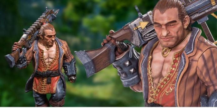 Dragon Age Inquisition Varric Statue