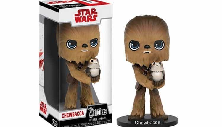 chewbacca porg bobble head