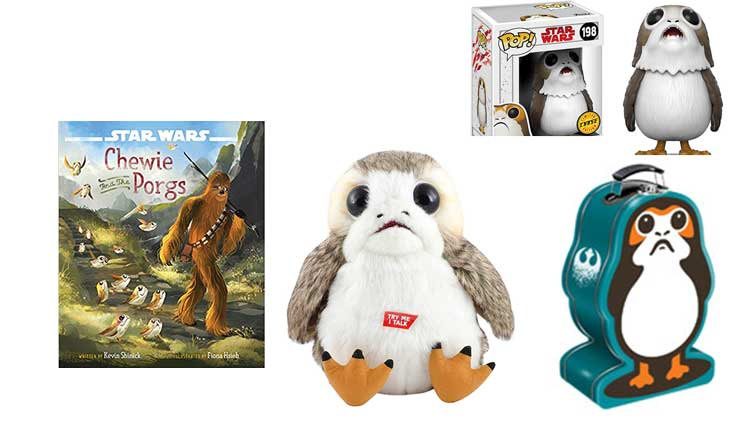Star Wars The Last Jedi Porg Electronic Plush Stuffed toy Play toy Figure Gift