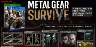 Metal Gear Survive Pre-Order Bonuses
