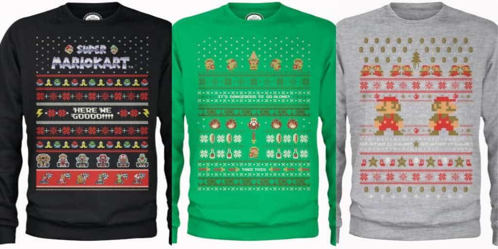 Retro Nintendo Christmas Sweaters | Nerd Much?